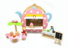 Teapot Cafe Play Set