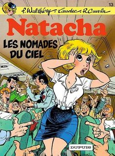 Natacha #13 - Les nomades du ciel (Issue)