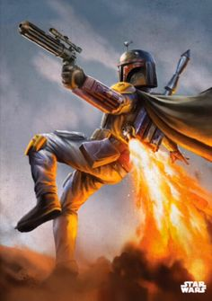 Boba Fett Poster made out of metal by Displate - What's a Displate? Displate is a magnet-mounted metal print. It's durable, it's steel. Star Wars Sith, Star Wars Boba Fett, Boba Fett Art, Star Wars Fan Art, Images Star Wars, Star Wars Pictures, Star Wars Poster, Boba Fett Movie, Cuadros Star Wars