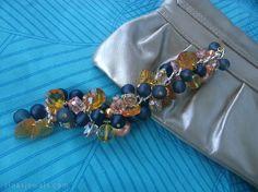 Chunky bracelet Charm bracelet Beaded bracelet in by RinasJewels