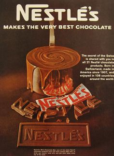 http://www.atticpaper.com/proddetail.php?prod=1967-nestles-chocolate-bar-ad. 1967 Nestles Chocolate Bar Ad