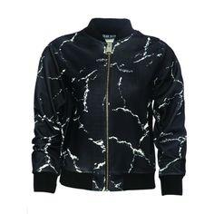 Calcium Carbonate Black Womens Jacket   Dear Deer   Wolf & Badger
