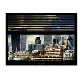 Found it at Wayfair - 'Window View UK Buildings 1' by Philippe Hugonnard Photographic Print on Wrapped Canvas