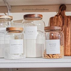 New Minimalist Pantry Labels Personalization Available Easy Home Decor, Home Decor Styles, Cheap Home Decor, Home Decor Accessories, Decorative Accessories, Kitchen Accessories, Spice Labels, Pantry Labels, Victorian Decor