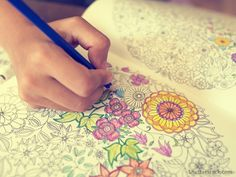 Coloring is not just for kids anymore, it is being used for adults to help with anxiety, and maintain mindfulness.