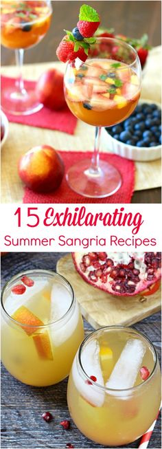 15 Exhilarating Summer Sangria Recipes