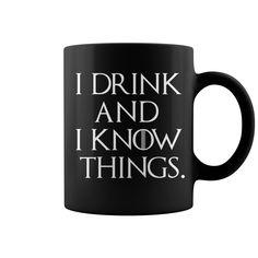I drink #Funny #drinking #wine #Drinkingtshirts #Drink #shirt #store #gift Funny Drinking Shirts, Shirt Store, Wine, Mugs, Drinks, Tableware, Drinking, Beverages, Dinnerware