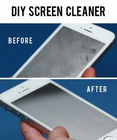 Clean A Greasy Phone With This DIY Screen Spray