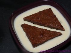 Brownies aux noix praliné #chocolat #toutauchocolat #brownie