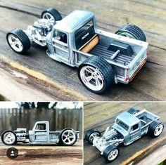 Custom Hot Wheels, Hot Wheels Cars, Hot Cars, Custom Cars, Kids Wagon, Bone Shaker, Hot Rod Pickup, Derby Cars, Model Cars Kits