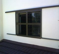 The Aluvent adjustable blade shutters comprises of low maintenance aluminium louvre blades enclosed within an aluminium frame. Aluminium Shutters, Office Decor, Blade, Curtains, Garden, Ideas, Home Decor, Windows, Blinds