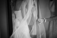 veiled bride, photo by Calgary, Alberta, Canada wedding photographer Gabe McClintock Photography | via junebugweddings.com