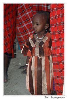 Baby Masai, near Masay Mara, Tanzania
