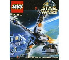 Lego Set 7180.this was a great set.the ship is pretty cool, and how it rotates around was genius.good fun.