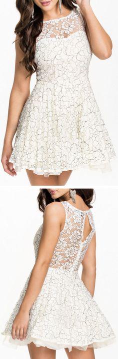 Floral Lace Dress ❤︎