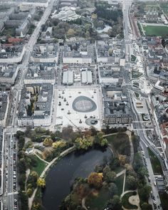 six years after winning a contest to redesign the plaza, danish architecture studio COBE has completed the renewal of the copenhagen's 'israel's square'.