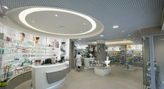 Farmacia Casale Caletto Realizzazione PH Design  Arch. C. Cutolo Arch. F del Piano