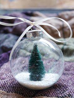 Cook~Love~Craft: DIY Snow Globe Ornament