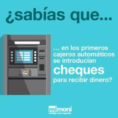 El primer cajero automático fue instalado en el banco Barclays de Londres en 1967.