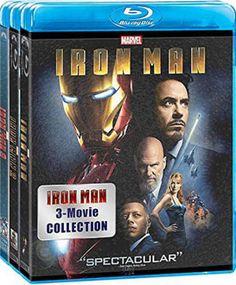 Iron Man: 3 Movie Collection [Blu-ray Boxset] New Blu-ray #boxset #collection #movie #iron