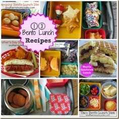 13 #Bento lunch ideas your #kids will love to help you put together and will love to eat :-)