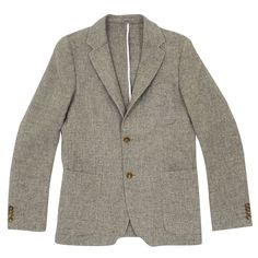 Our Legacy 3/2 grey weed jacket
