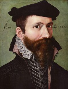 1566 Ludger Tom Ring the Younger - Portrait of a Man