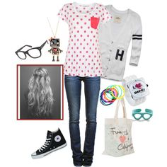 Nerdy Chicy, created by julie-bera on Polyvore