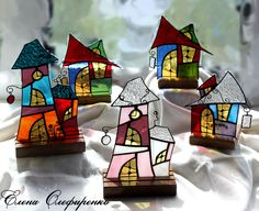 Make with the scrap glass