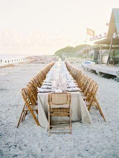 Boho chic Anguilla beach wedding: http://www.stylemepretty.com/2017/03/16/boho-chic-anguilla-wedding/ Photography: Braedon Flynn - http://braedonphotography.com/#/Gallery/Portraits-1/image_86046
