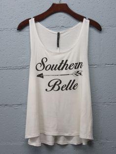 Southern Belle Tank