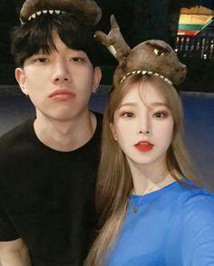 Korean Ulzzang, Ulzzang Boy, Korean Couple, Best Couple, Cute Korean, Korean Girl, Romantic Couples, Cute Couples, Blonde Couple