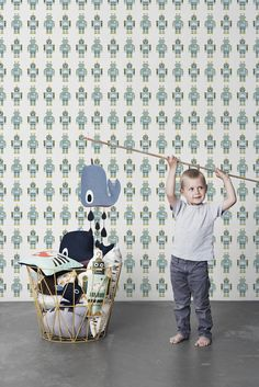 great wallpaper by Ferm Living