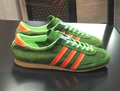 Trainer of the week - Vintage adidas Rasant III - made in Austria - crackin colour combo