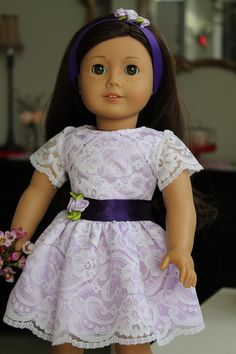 American Girl Special Occasion Dress Madame by LoveEllieBean, $30.00