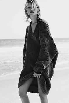 "Hana Jirickova in ""Grosse Freiheit"" by Nick Dorey for Vogue Germany, November 2014."