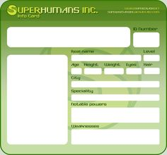 113 best cosplay id card templates images on pinterest card
