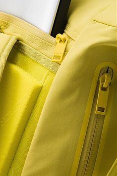 leManoosh.com#YellowTextile / FabricSoftBagStitchingWeldingbackpack