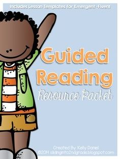 It's the beginning of the year and you're thinking about how you'd like to get organized for guided reading. This resource pack is full of lesson plan templates inspired by Jan Richardson's The Next Step In Guided Reading for Pre-A & Emergent, Early, Transitional, and Fluent readers!