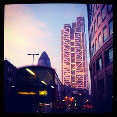Sunrise in the City, London