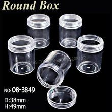 Acrylic bottles with screw cap round boxes storage for DIY Nail Art Accessory Jewelry beads Crafts container case Stone Crafts, Bead Crafts, Acrylic Containers, Diy Bottle, Nail Art Diy, Jewelry Packaging, Diy Tools, Jewelry Organization, Shopping