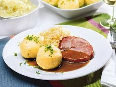 Kartoffelknödel hausgemacht -
