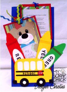 Kindergarten survival kit.