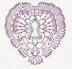 Os corações poderão fazer parte de peças de vestuário, decorativas apliques...  Muitas utilidades!