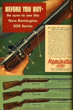 Great Gun Ads of the 40s and 50s | Field & Stream