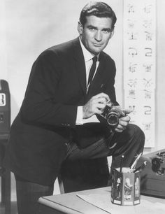 Rod Taylor, in a promotional shot from around 1960. The actor died at his home in Los Angeles Wednesday. Jan 7 2015