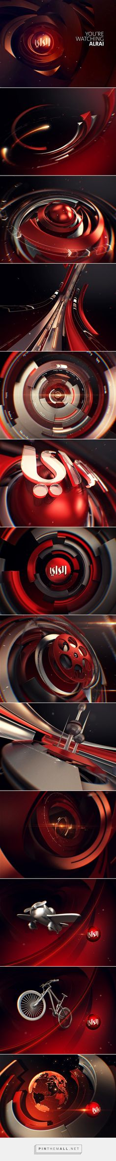 Alrai on Behance... - a grouped images picture - Pin Them All