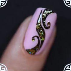 Nails Art Archives - Trend Tip Get Nails, Hair And Nails, Nail Art Designs, Nail Art Videos, Autumn Nails, New Nail Art, Beautiful Nail Art, French Nails, Nail Arts