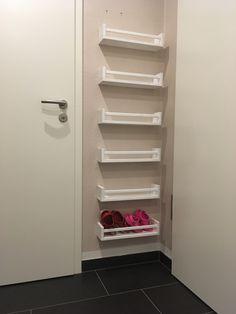 Ikea Hacks, Closet, Blog, Home Decor, Kids Shoe Rack, Coat Racks, Homes, Stairway, Homemade Home Decor