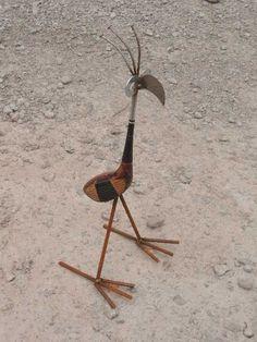 Golf Wood Bird by JunkFX Lawn & garden Art (Free Shipping). $30.00, via Etsy.